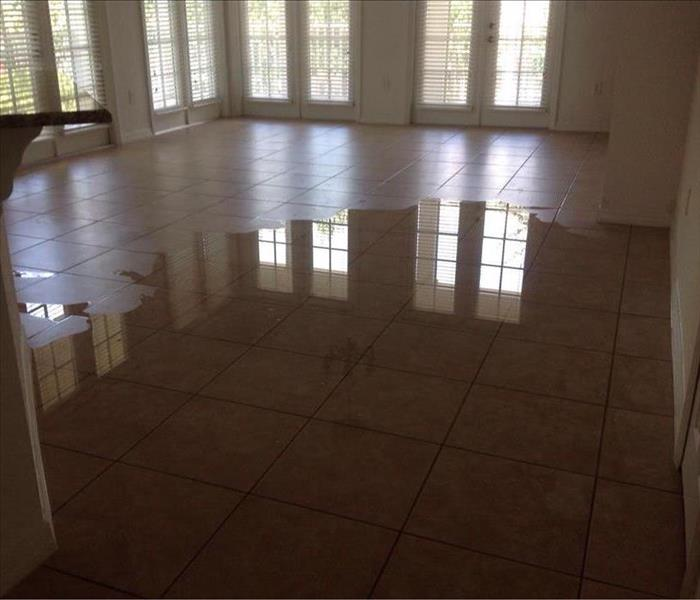 Water Damage in Viera, FL Before