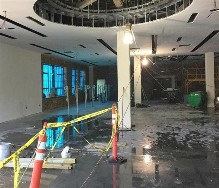 Commercial Water Damage in Rockledge, FL Before