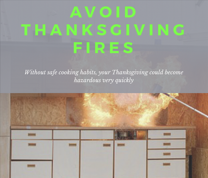 Fire Damage Avoiding Thanksgiving Kitchen Fires